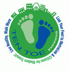 Ten Toe Express logo